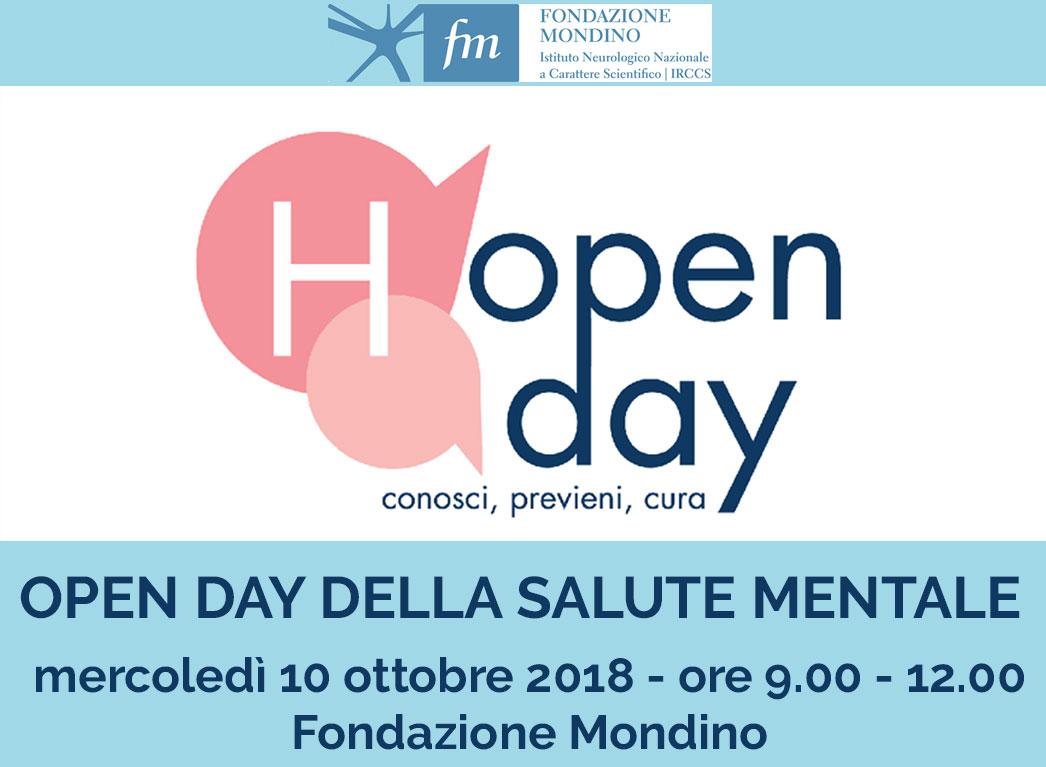 Open day servizi psicologici Fondazione Mondino